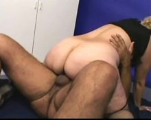 Mature BBW in XXX action 9