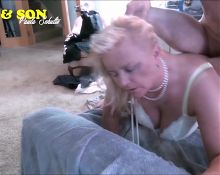 REAL MOM AND SON DOUBLE PENETRATION FUCKING MACHINE