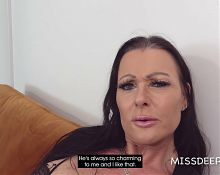 Lesbians need a penis once in a while! MISSDEEP.com
