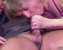 2 sexy german matures fucked by guy