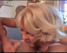 Desperate Petite German Granny Rita Gets Assfucked By Stud
